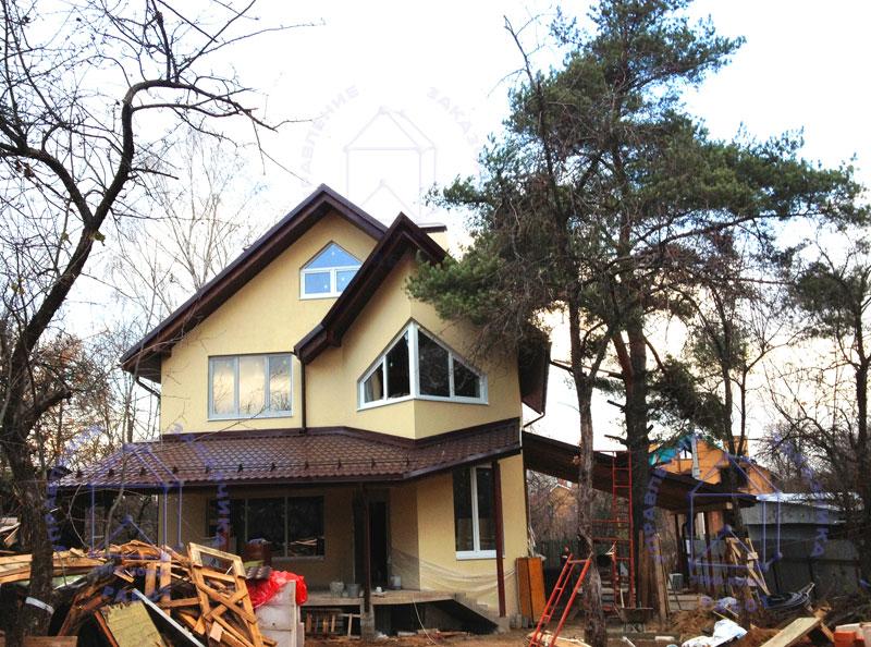 Типовой загородный дом – быстрое решение дачной