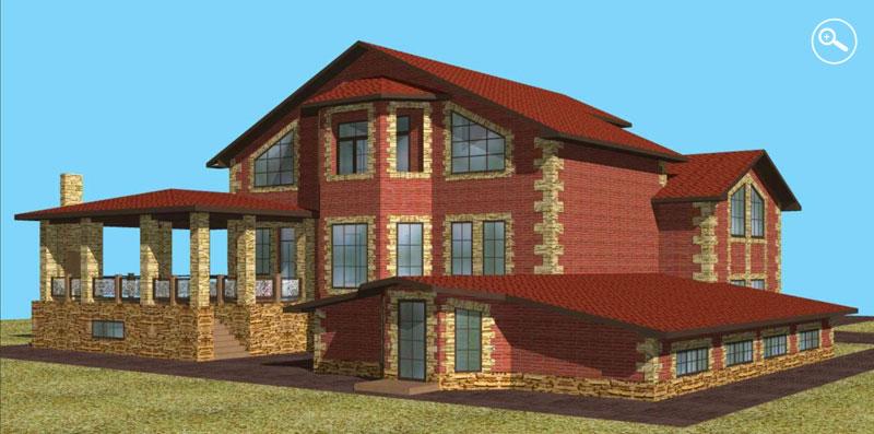 Проекты индивидуальных жилых домов, проекты коттеджей